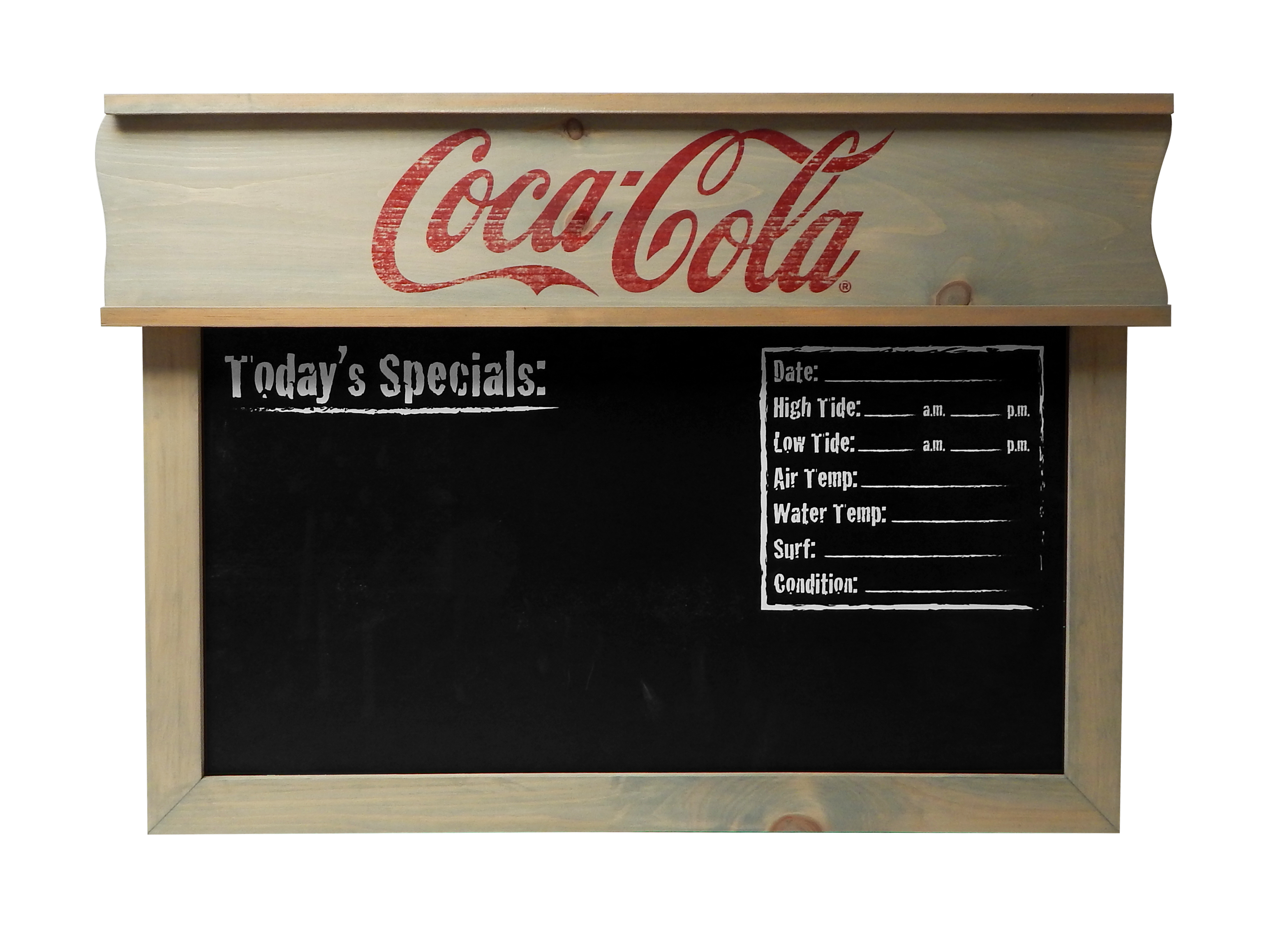 Coca Cola Beach Report Chalkboard copy