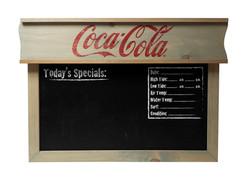 Coca Cola Beach Report Chalkboard copy