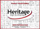 Heritage Sign & Dispaly Product Gallery-
