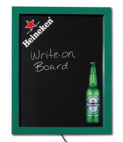 Heineken Edgelit Write-On Board