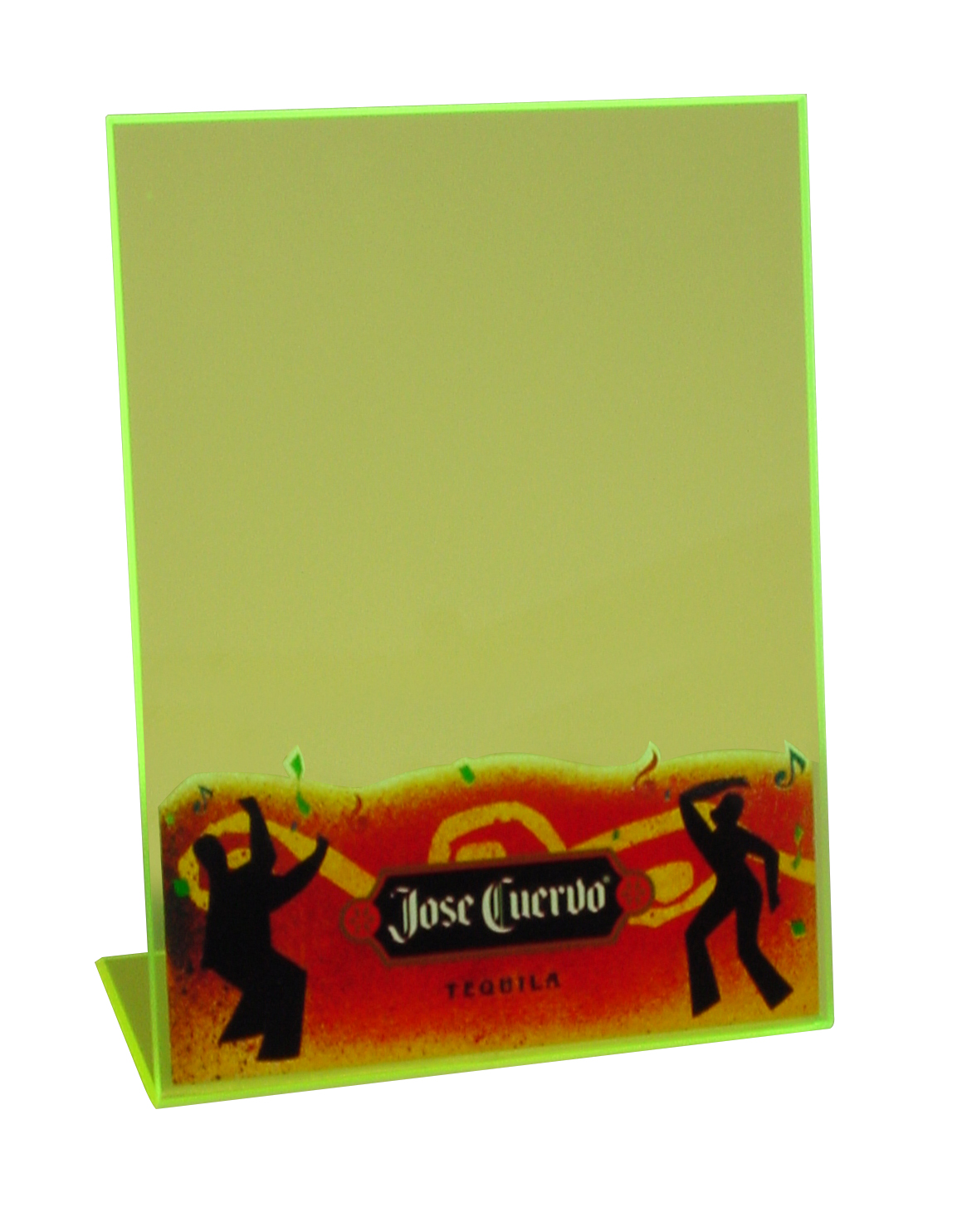 Jose Cuervo Table Tent