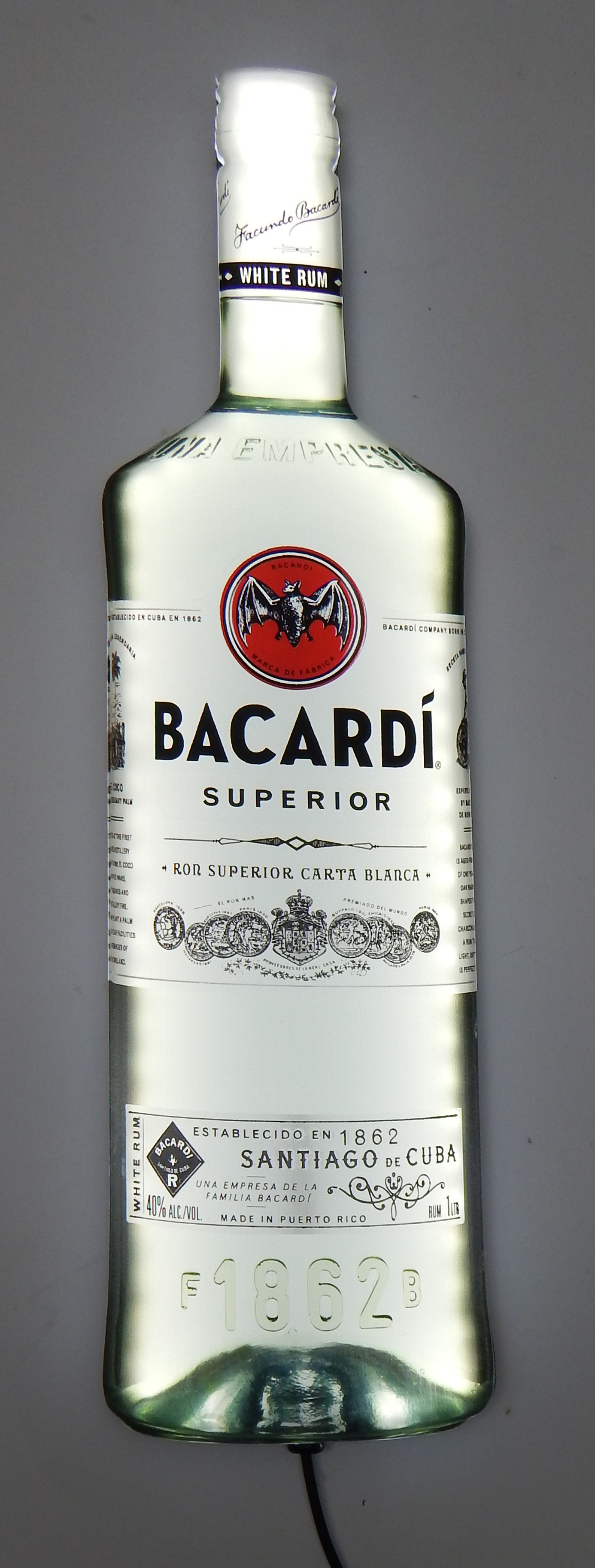 Bacardi Superior Slim-LiteLED