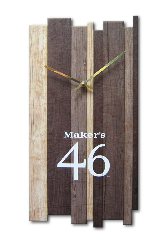 Maker's Mark Clock