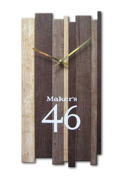Maker's Mark Clock