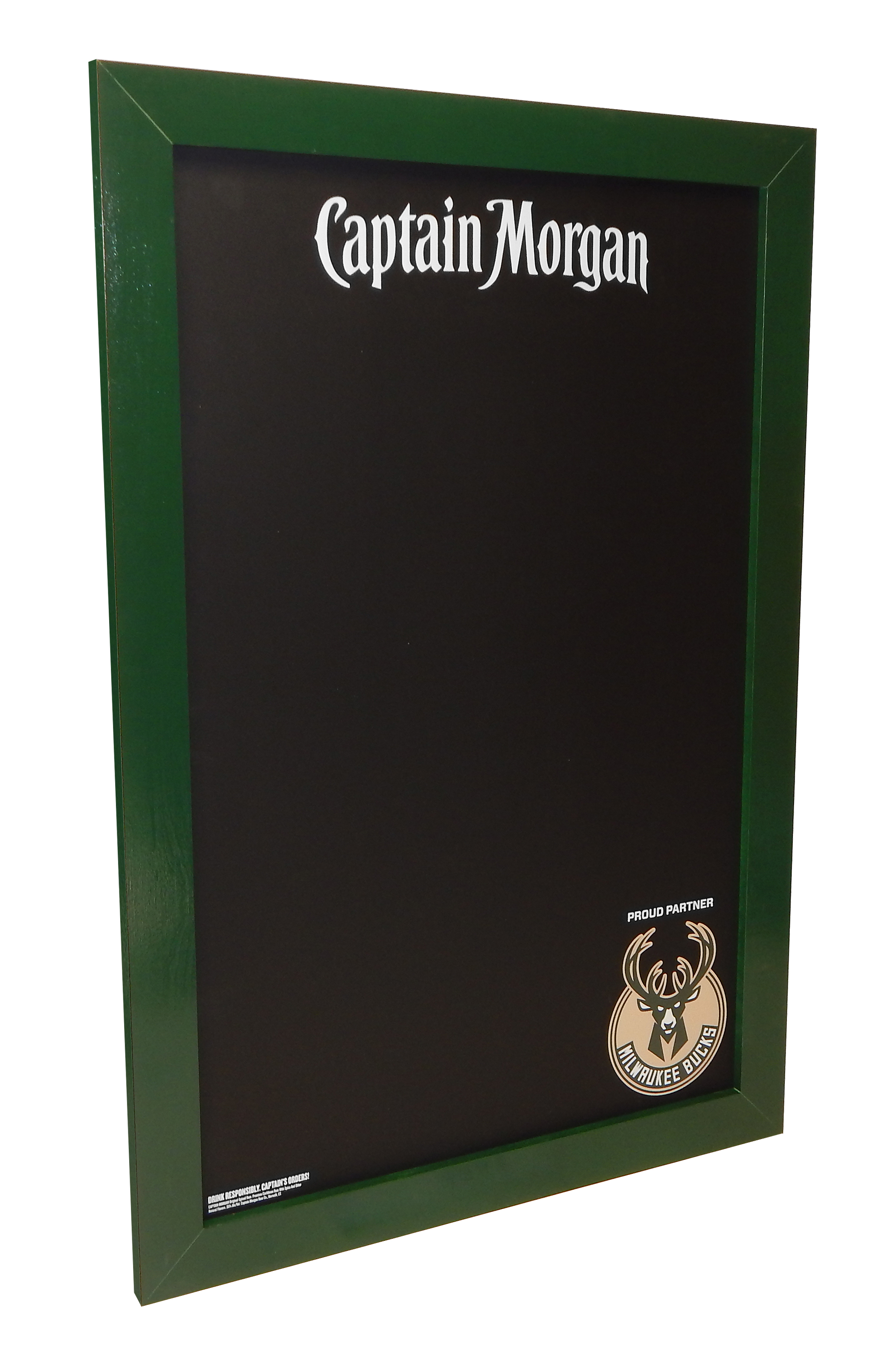 HAL-280 Captain Morgan Bucks Wall Chalkb