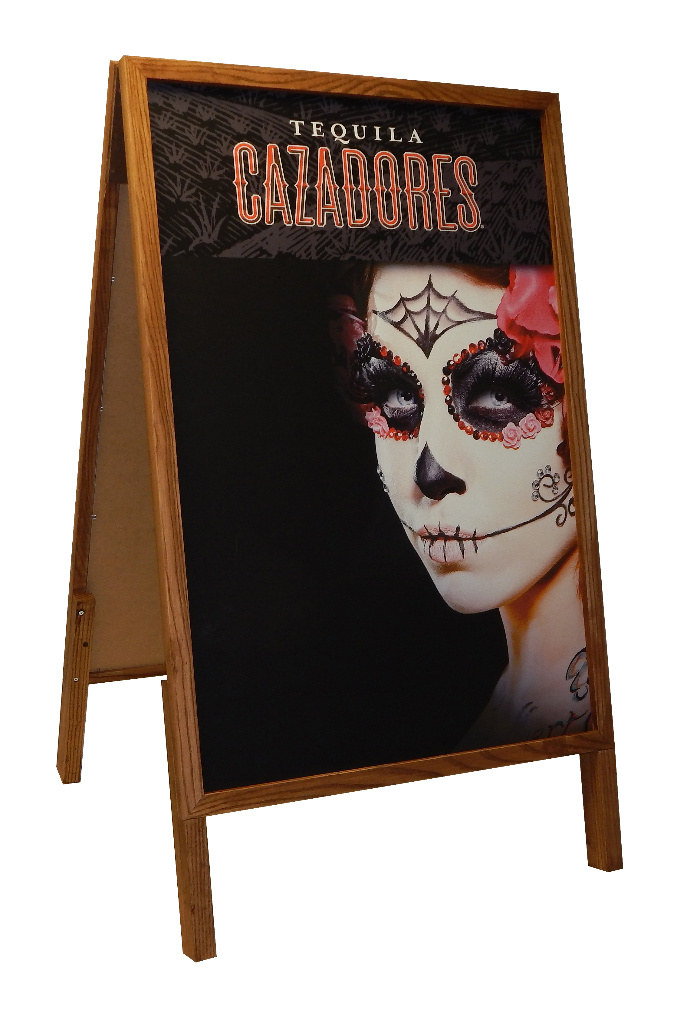 InnerWorkings - Cazadores Wooden A-Frame