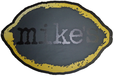 Mikes lemon Chalkboard