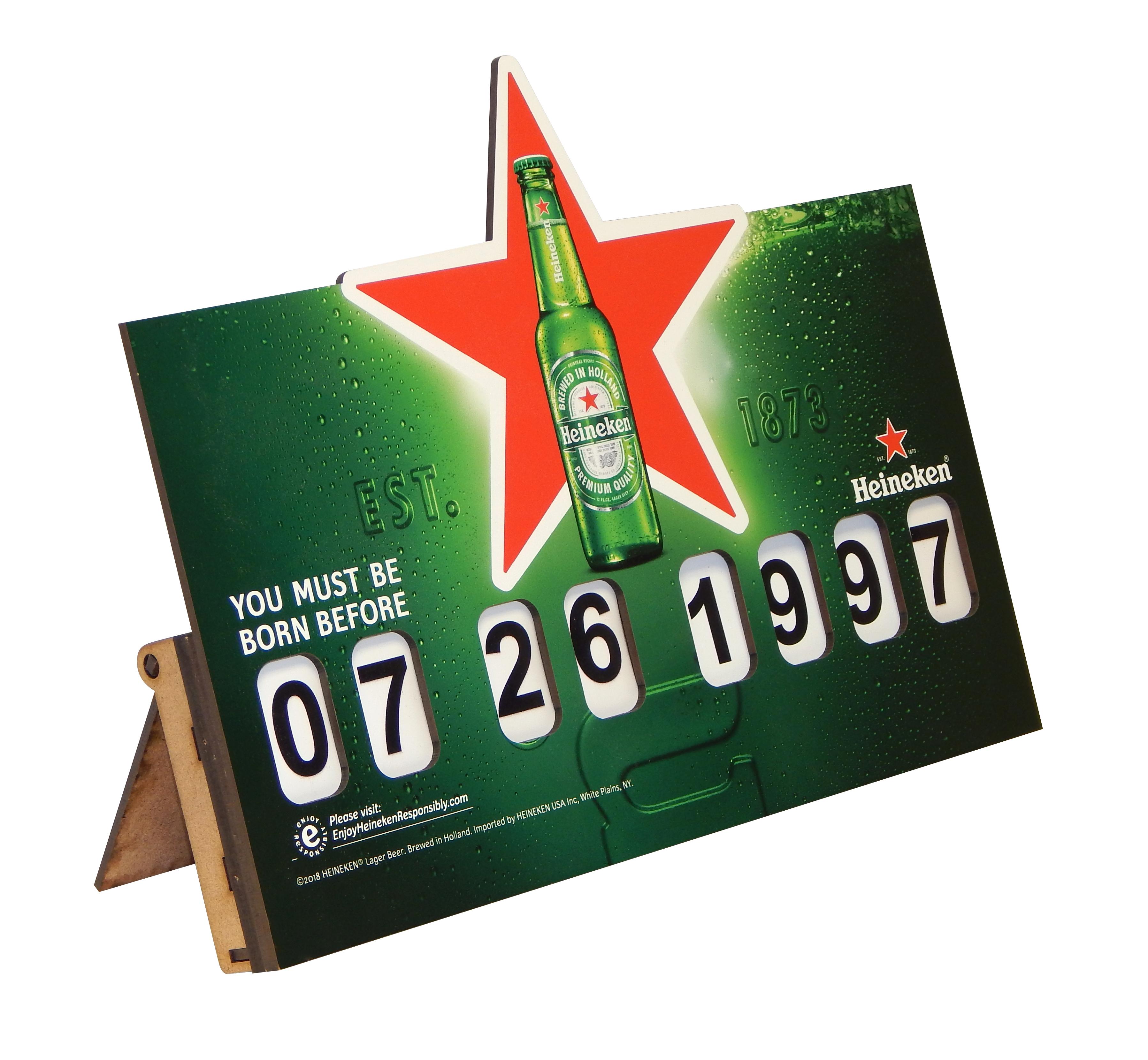 Heineken Age Sign