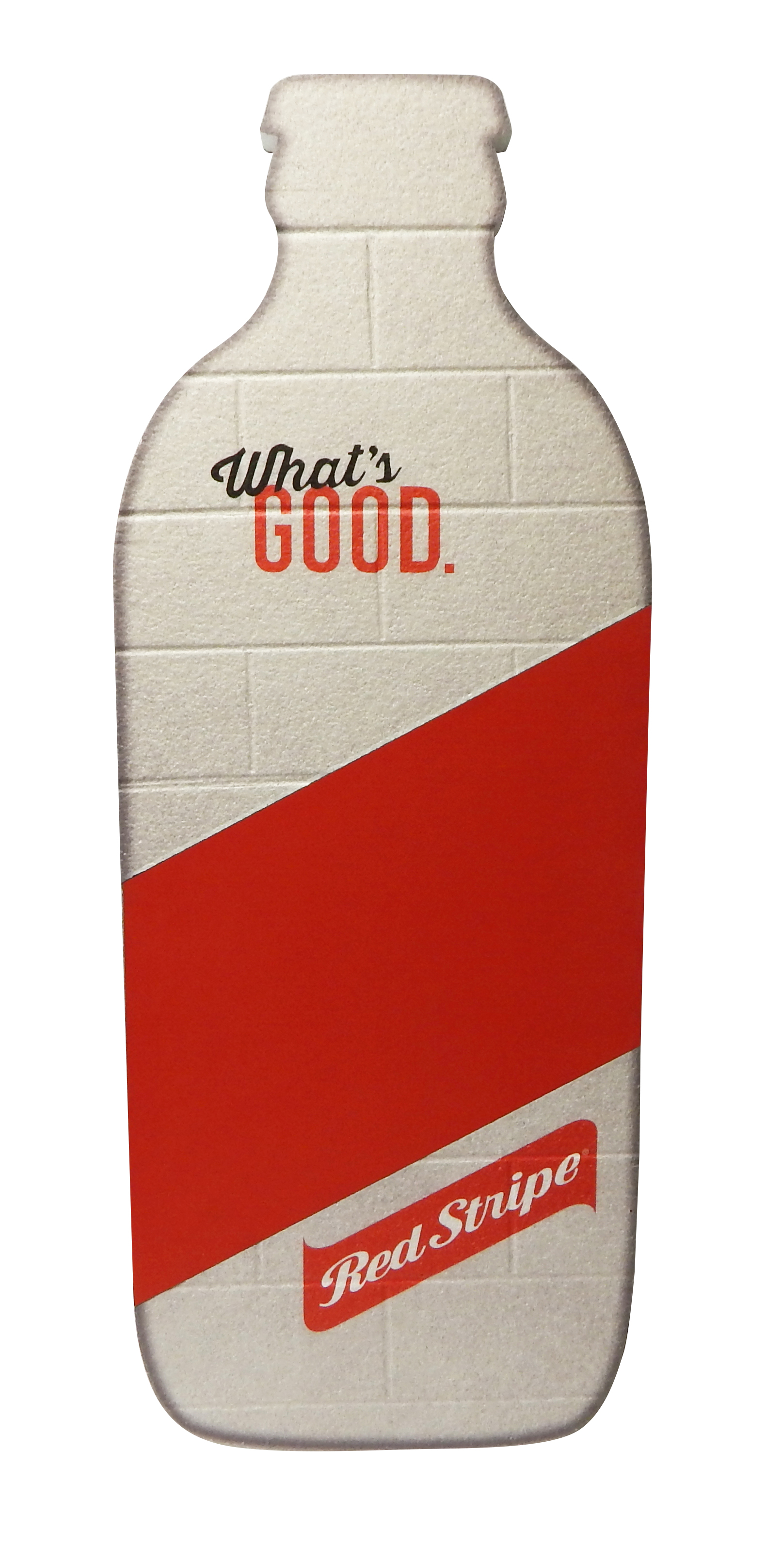 Red Stripe Foam Chalkboard 2784 - 8-4-15