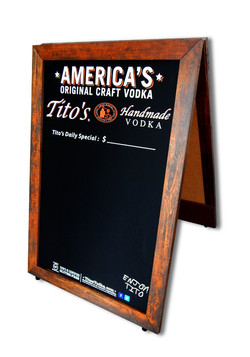 Tito's Handmade Vodka A-Frame