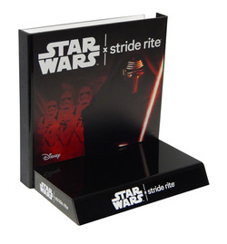 Stride Rite Star Wars Shoe Display