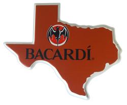 Bacardi Texas Tacker Sign