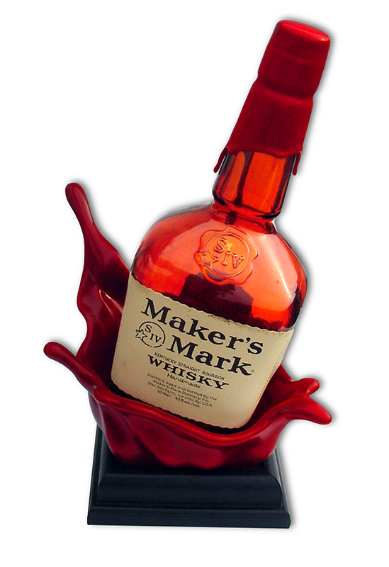 Maker's Mark Splash Bottle Glorifier