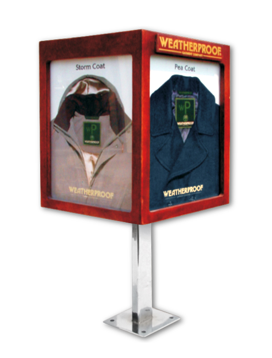 Weatherproof Display Stand