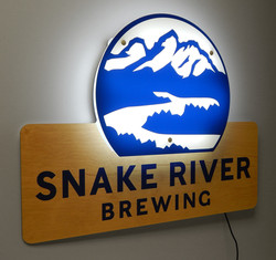CBH-02 Snake River LED Sign 3716