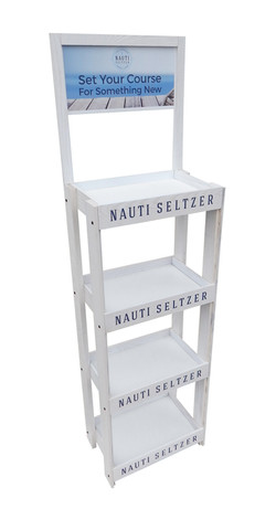 Nauti Seltzer Rack Display