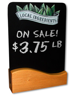Local Ingredients Table Chalkboard