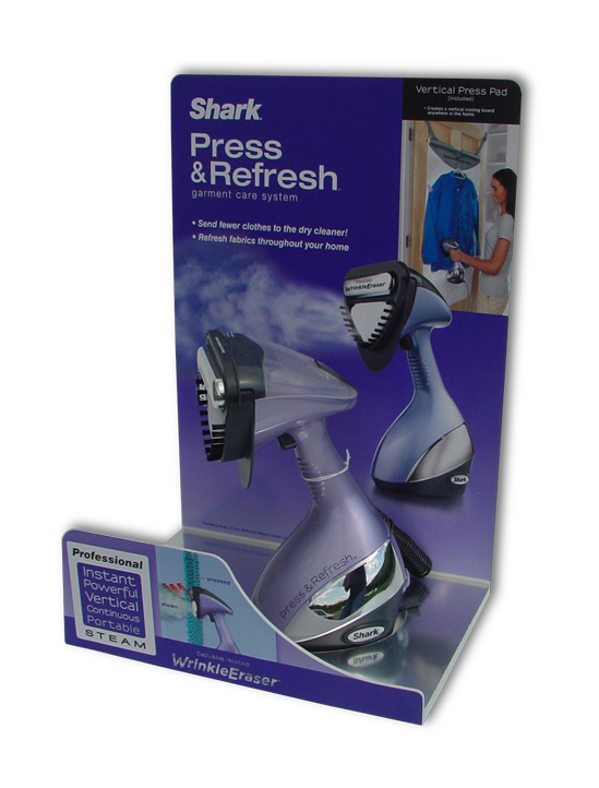 Shark Press & Refresh Display