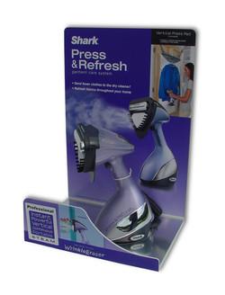 Shark Press & Refresh Display