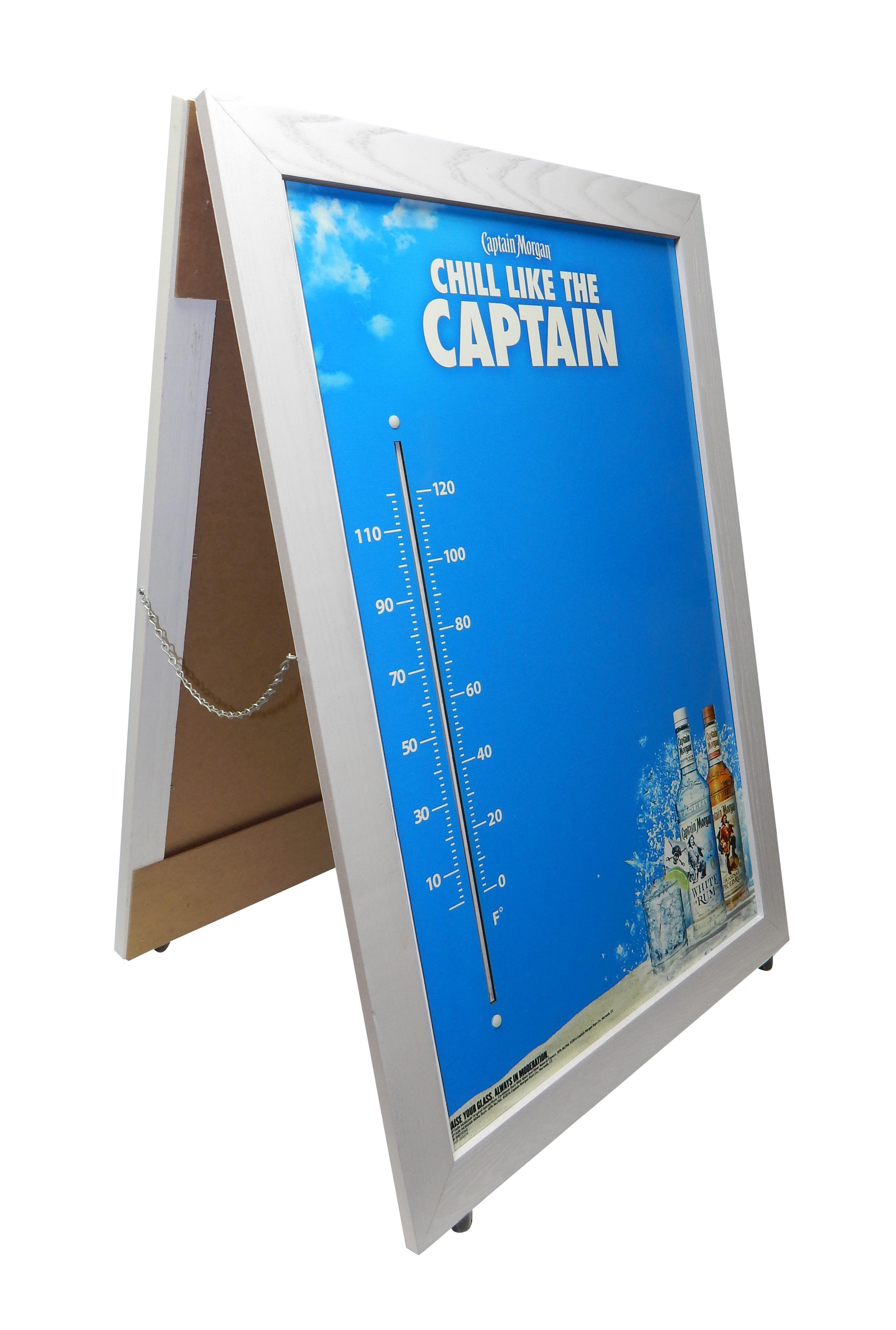 Captain Morgan A-Frame Thermometer 2556.