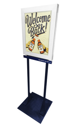Madden - Miller Lite Frame Poster Pole T