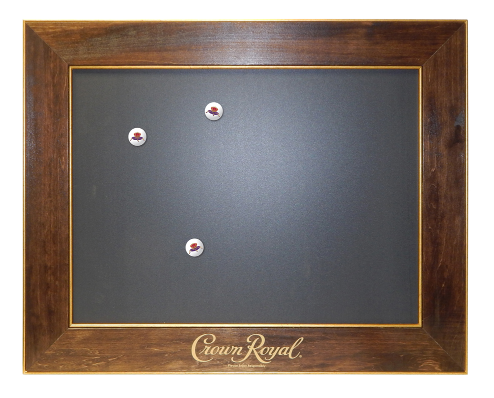 Crown Royal Magnetic Chalkboard