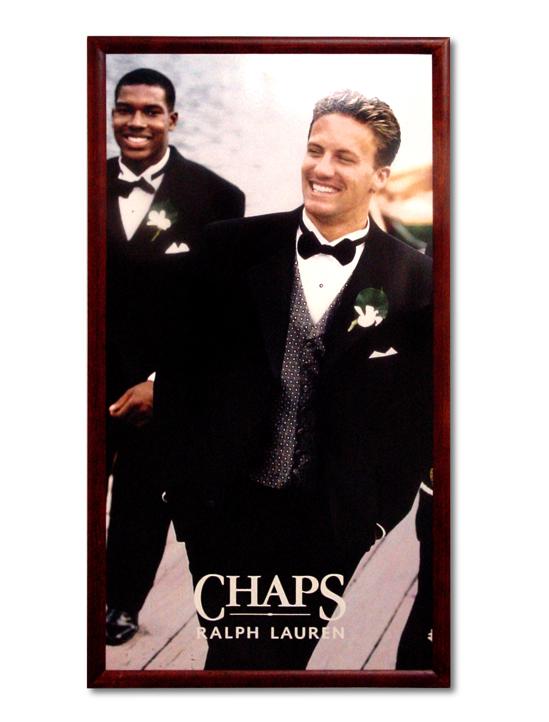 Ralph Lauren Framed Poster