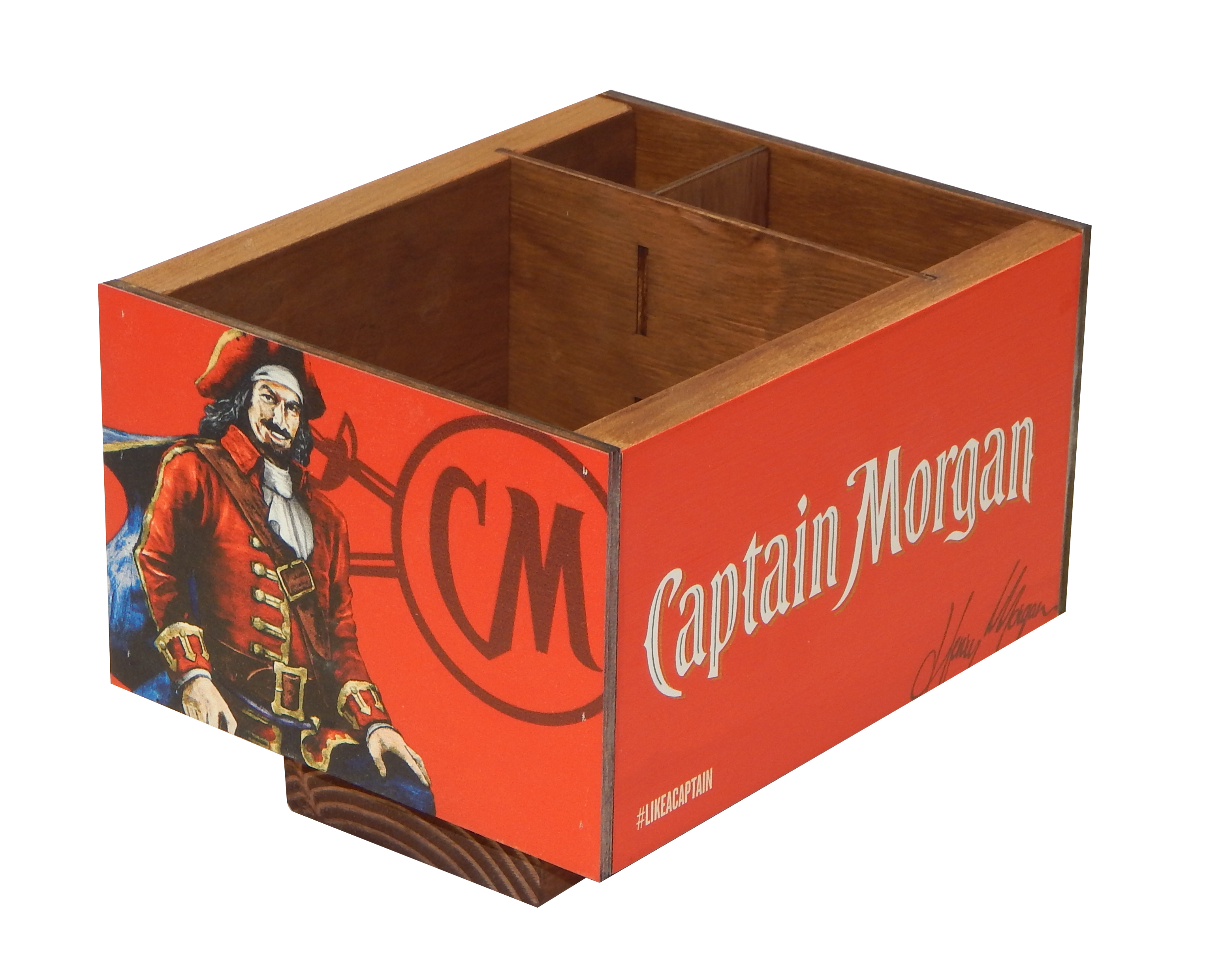 Captain Morgan Napkin Caddy
