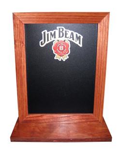 Jim Beam Chalkboard Table Tent