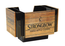 Strongbow Plastic Napkin Caddy