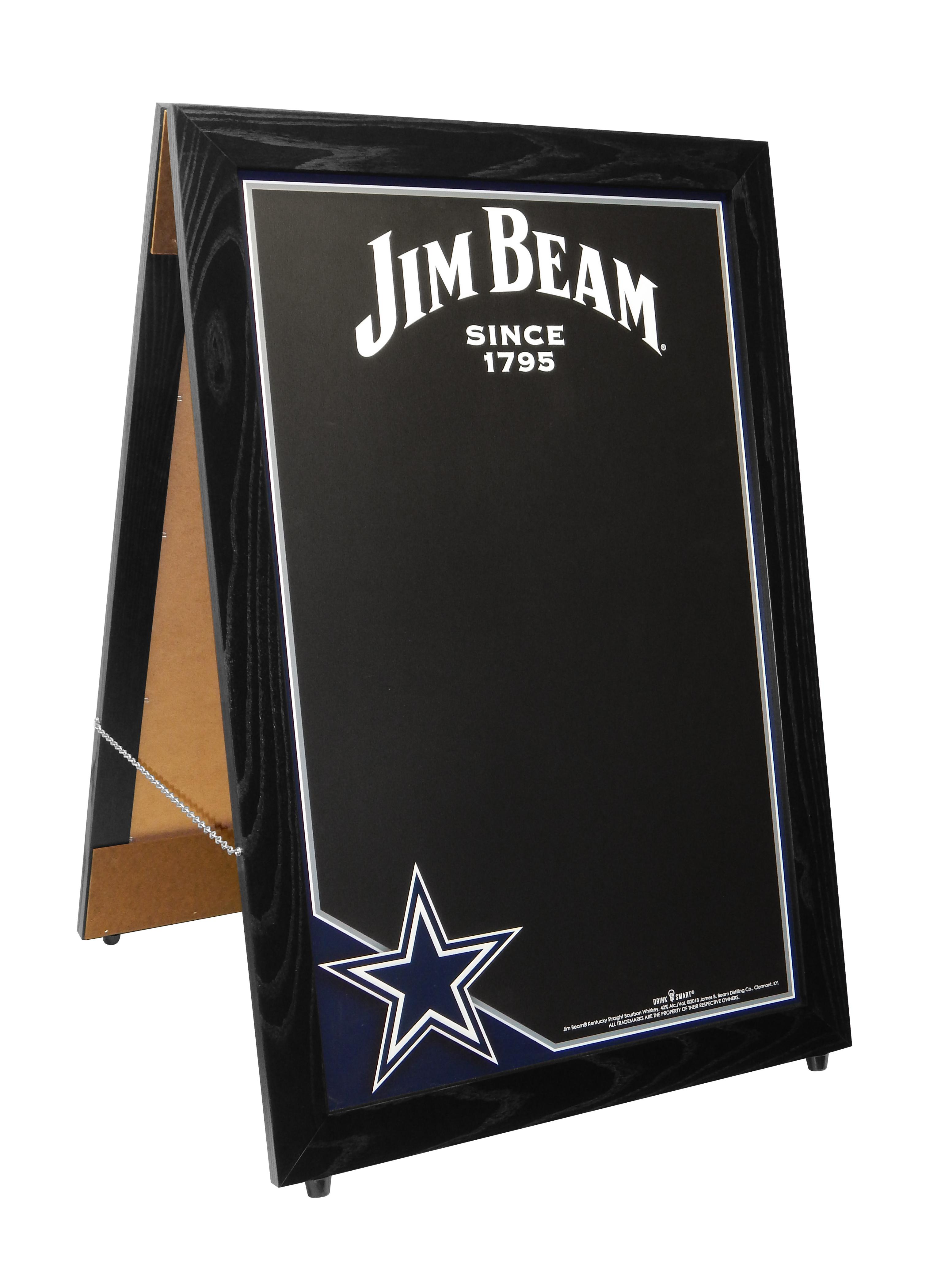 IMW-178 Jim Beam Cowboys A-Frame 6-27-18