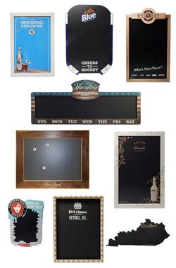 Visual Gallery - Chalkboards and Whiteba