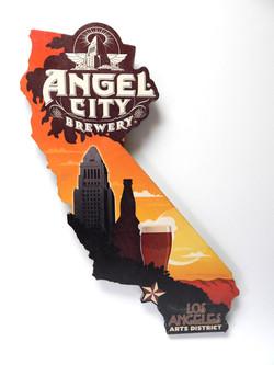 Angel City California Sign