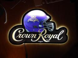 crown royal football LED