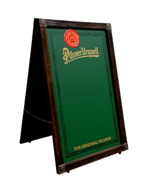 Pilsner Urquell A-Frame
