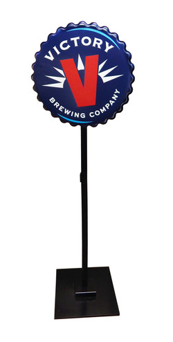 Victory Brewing Pole Topper 2928 copy co