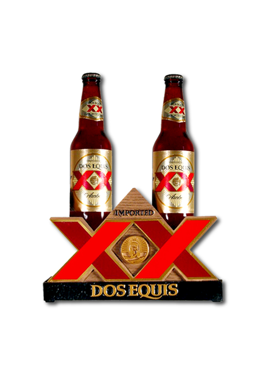 Dos Equis Bottle Glorifier