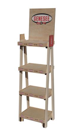 Genesee Wooden Rack Display