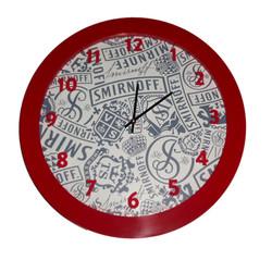 Smirnoff Round Clock HAL-50B