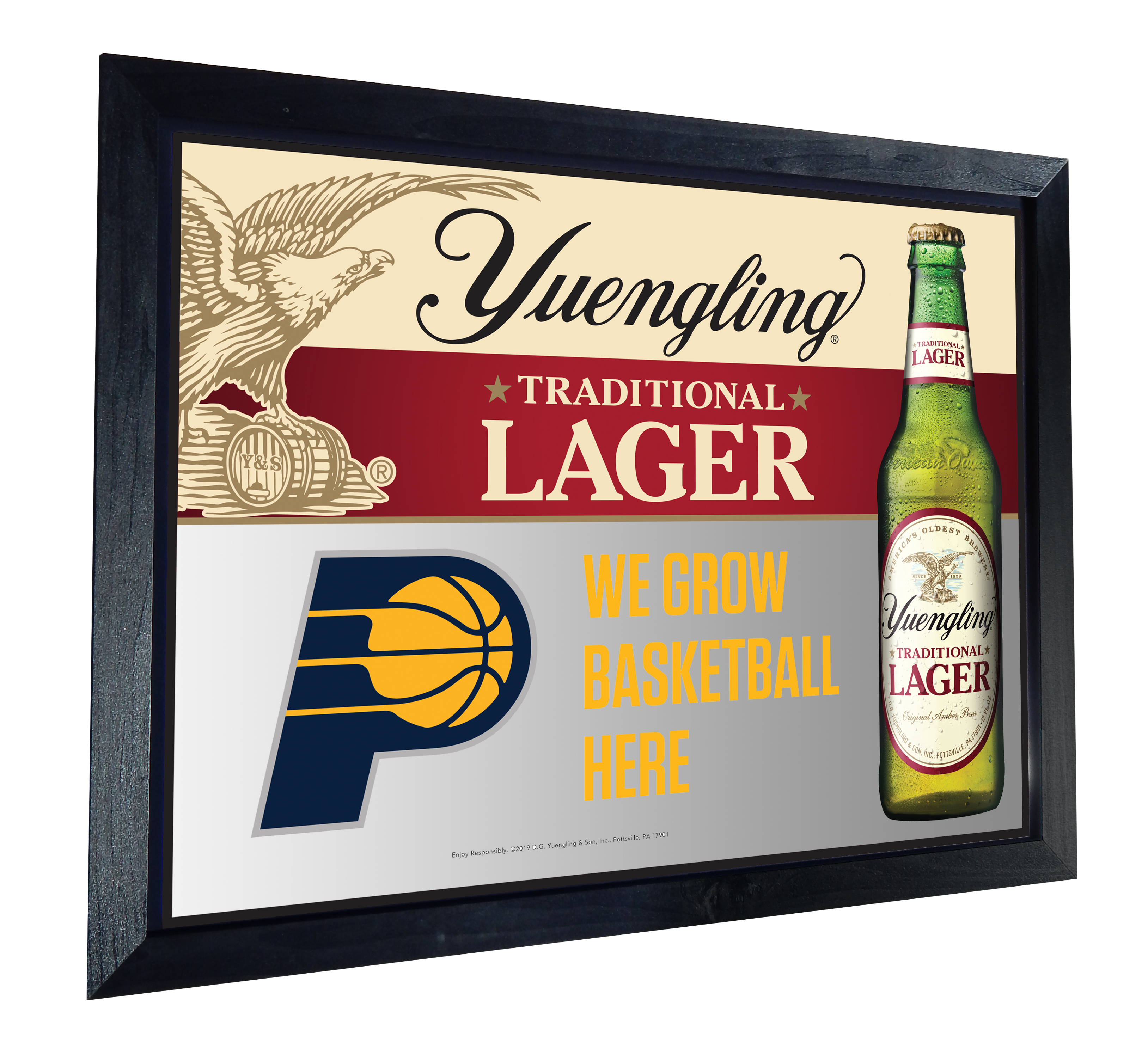 YUE-236A Yuengling Pacers Mirror 3811