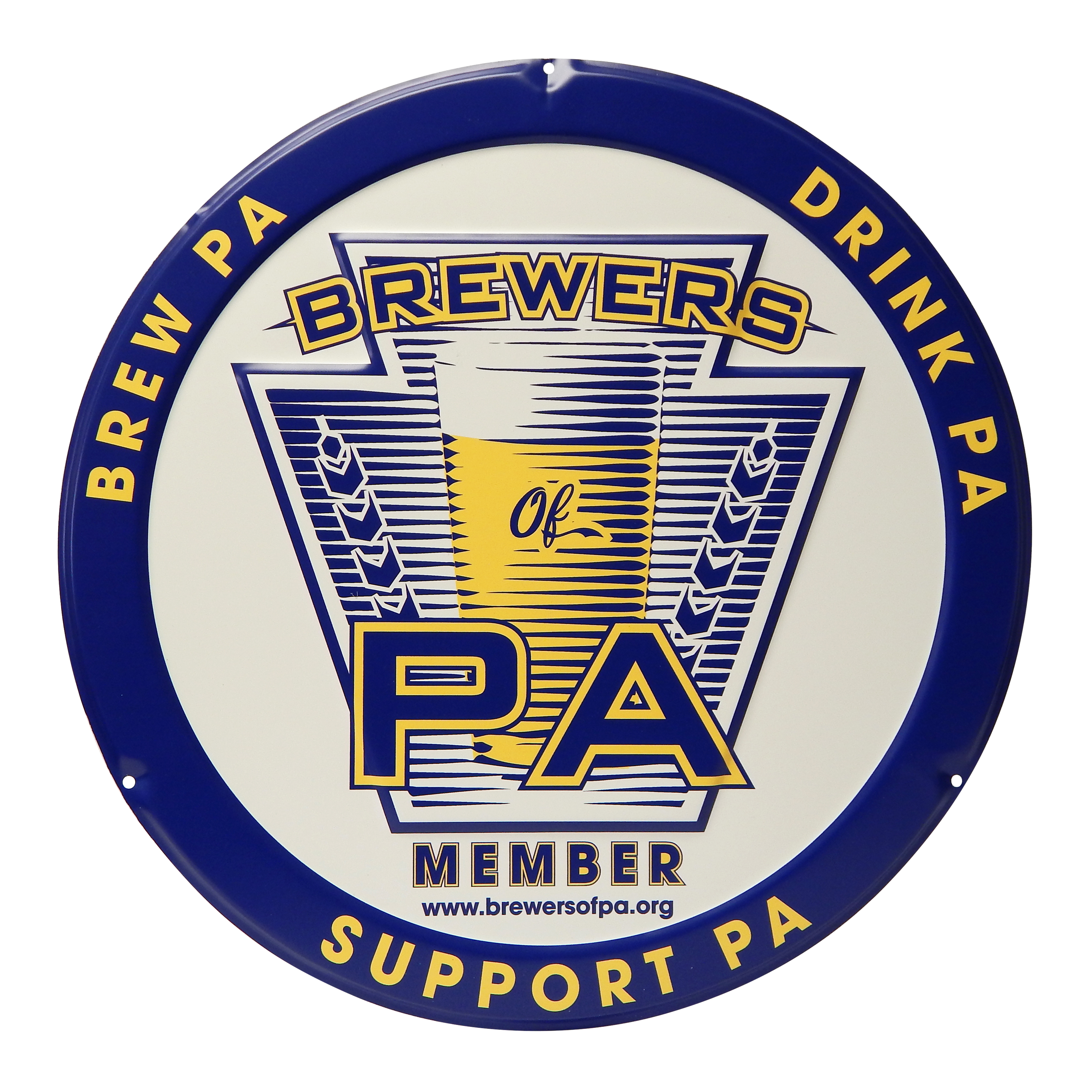 Brewers of PA Tacker Sign