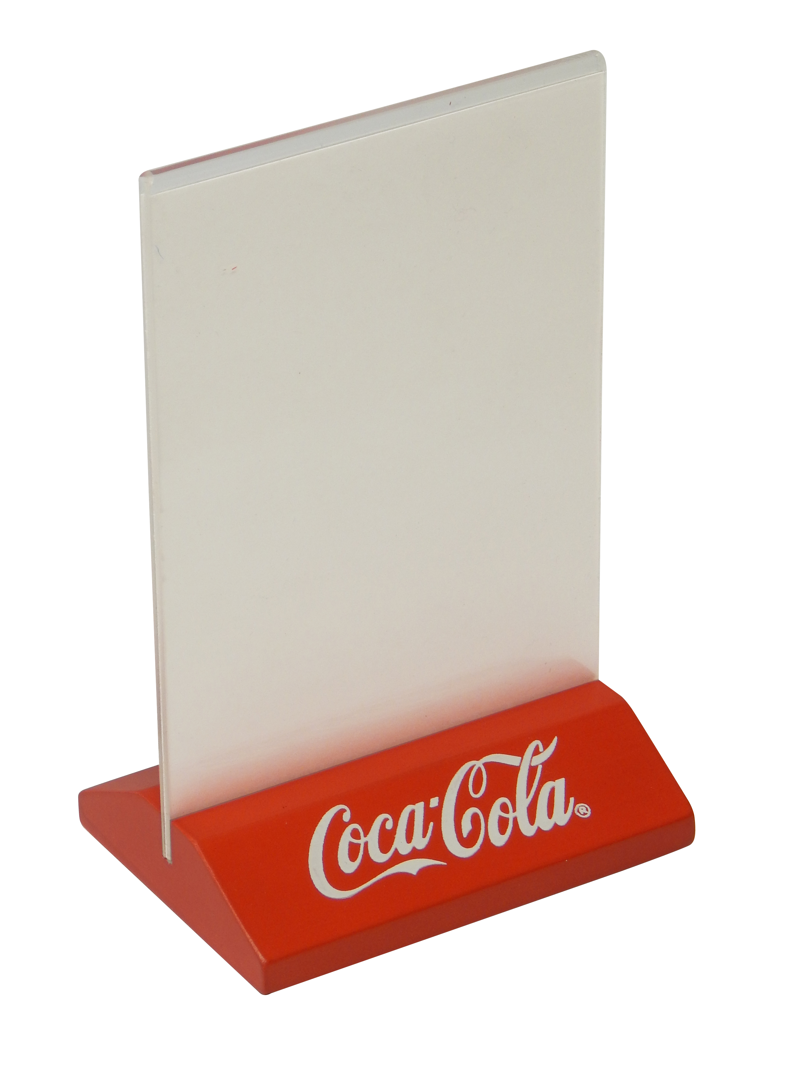 Coca Cola Table Tent Holder