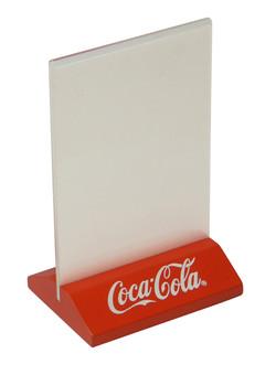 Coca Cola Table Tent Holder