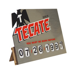 Tecate Age Sign