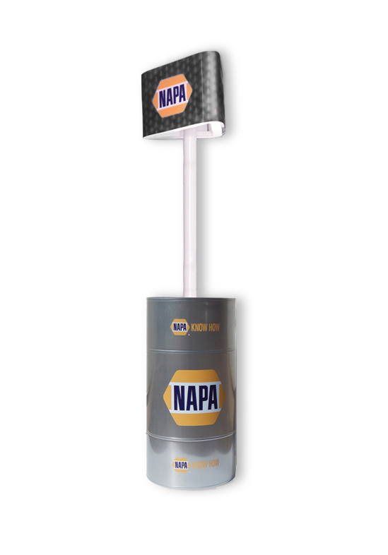 NAPA Barrel Display