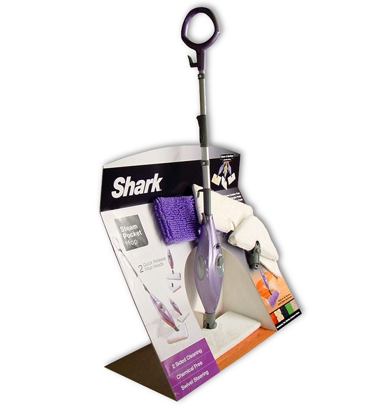 Shark Steam Mop Display