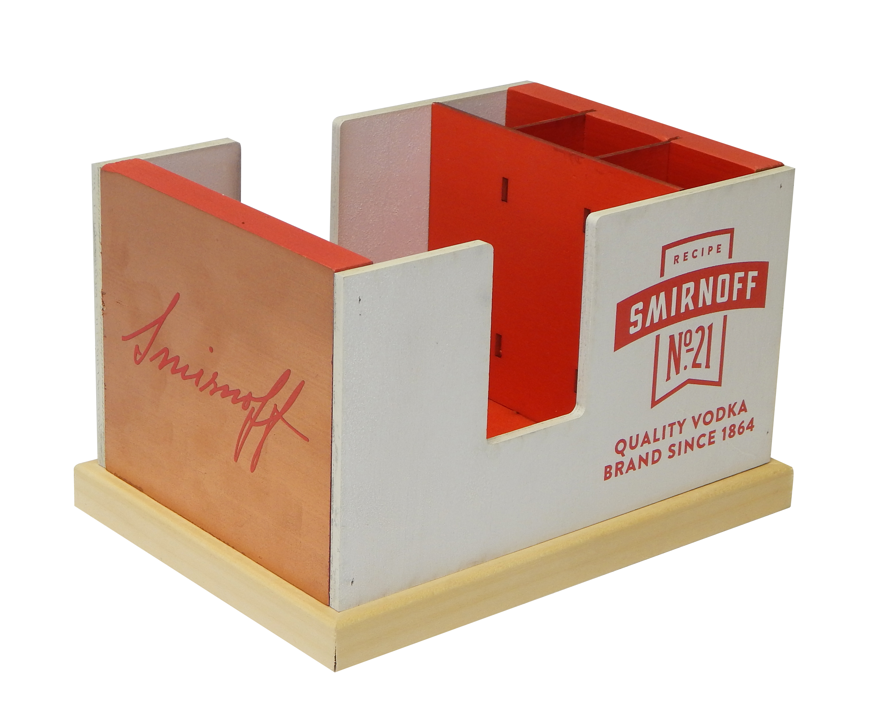 Sminoff Napkin Caddy