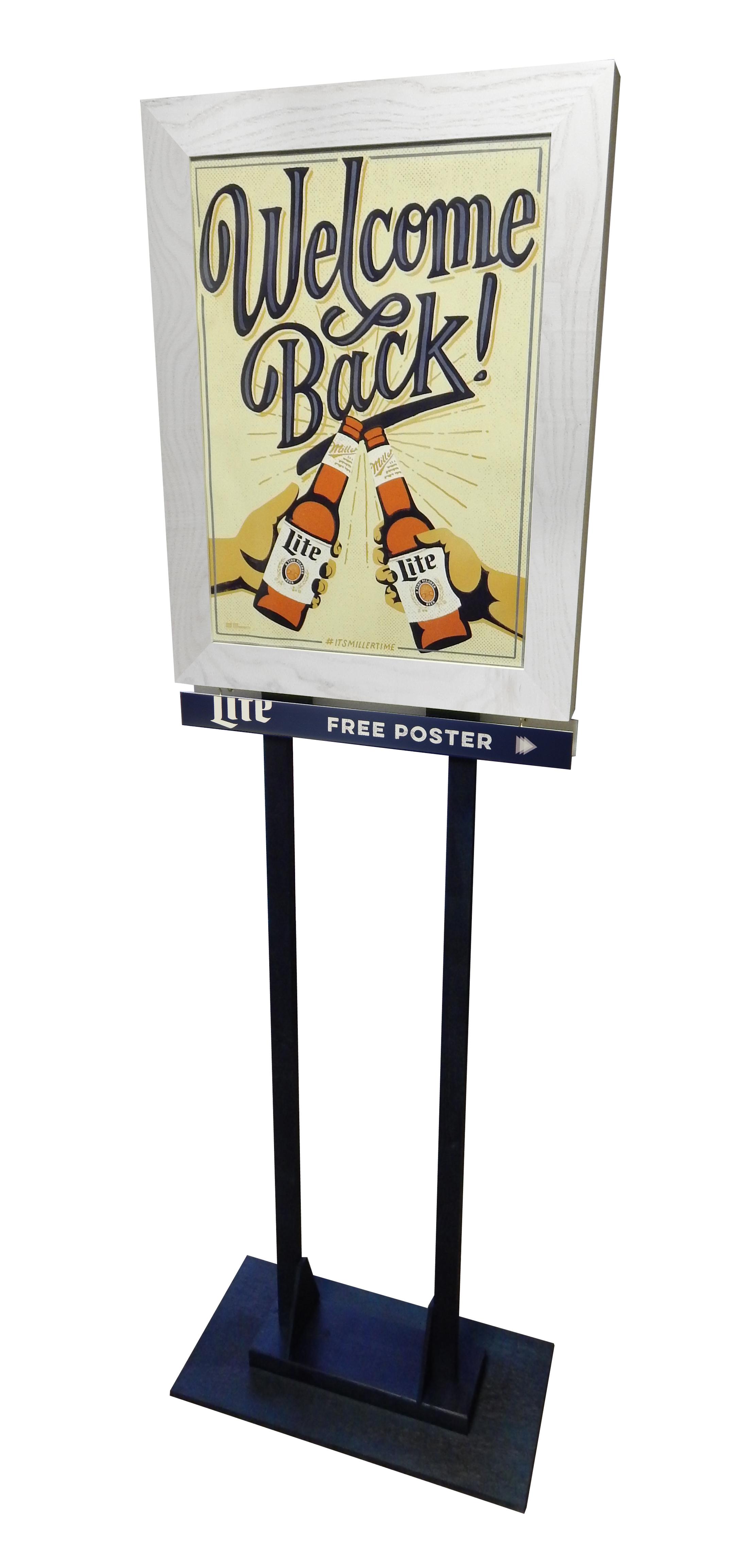 Miller Lite Pole Topper