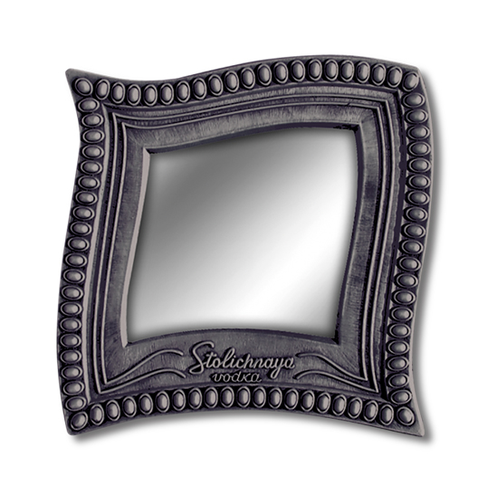 Stolichnaya Poly. Molded Mirror