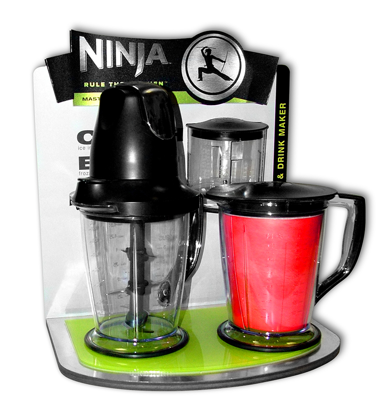 Ninja Blender Display